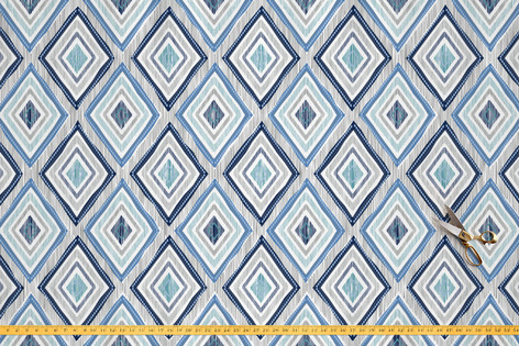 Imperfectly Perfect Ikat via Minted