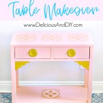Console Table Makeover