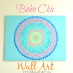 Boho Chic Wall Art