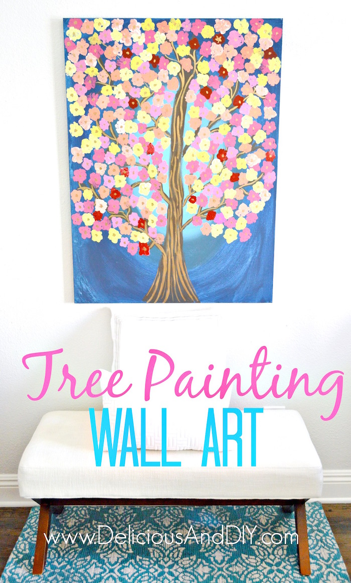 Quick and Easy Wall Art Ideas - Delicious And DIY