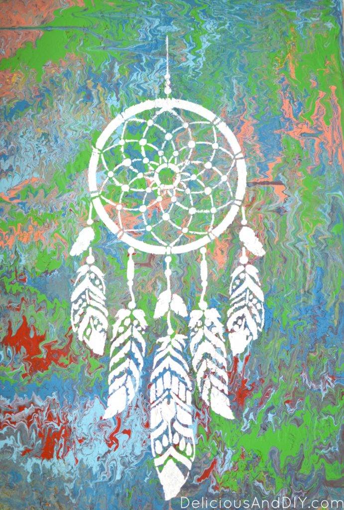 Dreamcatcher Wall Art - Delicious And DIY