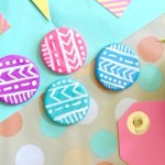 DIY Clay Fridge Magnets