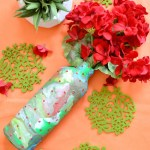 Marbled Clay Bottle Makeover