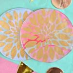 DIY Clay Flower Coaster