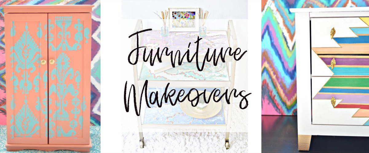 Furniture Makeovers – Delicious And DIY