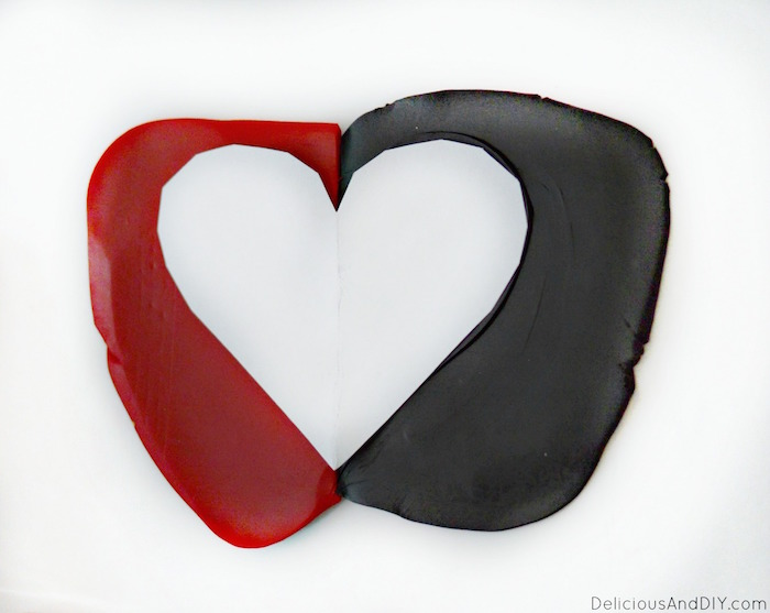 Have a little fun and create this beautiful Heart Clay Dish for your loved one  Valentine Gift Ideas  Clay Projects  Clay Ring Dish  Craft Projects  Heart Clay Dish  Broken Heart Clay Dish  Craft Ideas  Valentine Gift Ideas for Her  Valentine gift guide