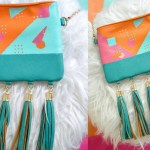 80s Inspired Bag Makeover