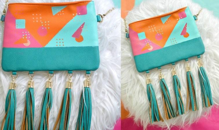 80s Inspired Bag Makeover