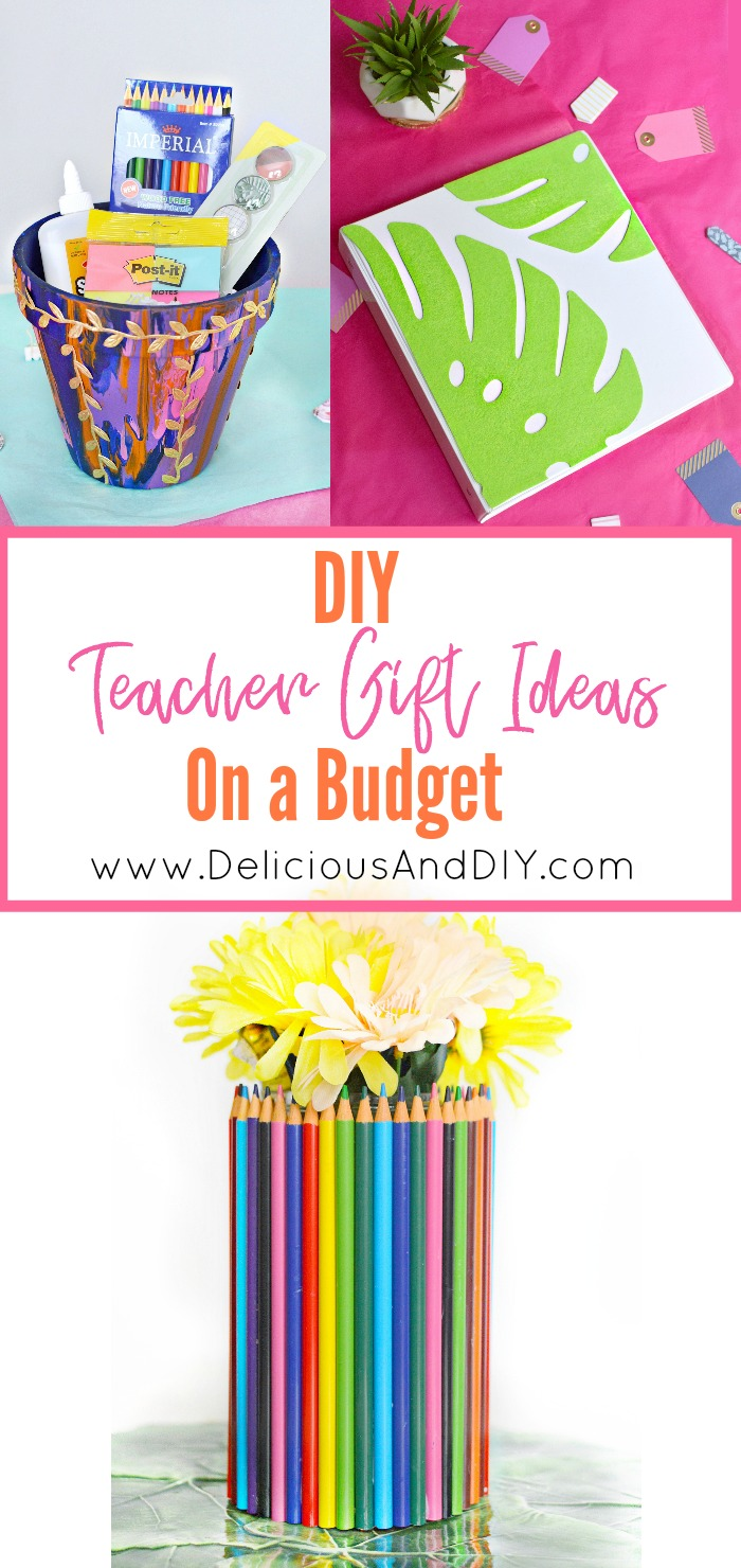 Diy teacher gift ideas on a budget delicious and diy these beautiful diy teacher gift ideas are not only budget friendly but really easy to make negle Image collections