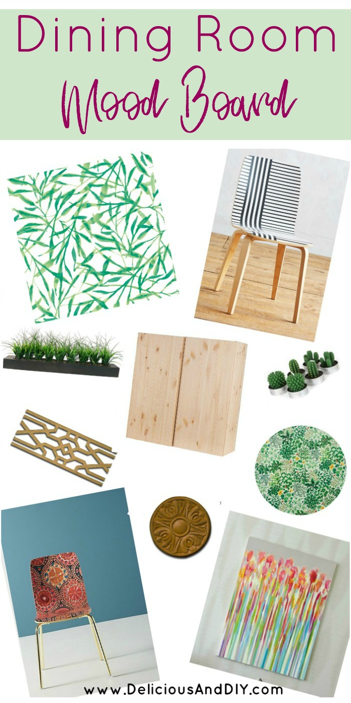 Dining Room Mood Board Inspiration