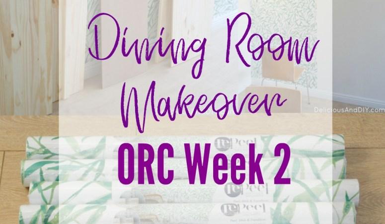 Dining Room Makeover – One Room Challenge Week 2