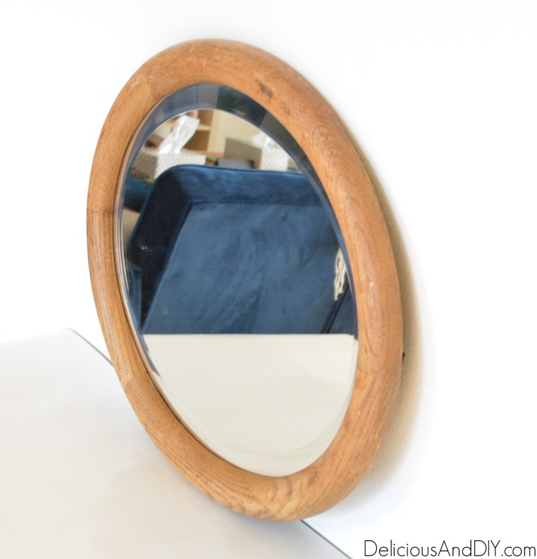 Create an Anthropologie Knock Off Mirror for less than $20 just by using Gold Spray Paint and Faux Flowers  Create a Stunning Anthro Inspired Gold Mirror all by using products which cost under $20  Anthropology Flower Gold Mirror