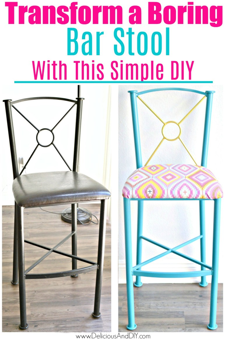 Before and After of Bar Stool