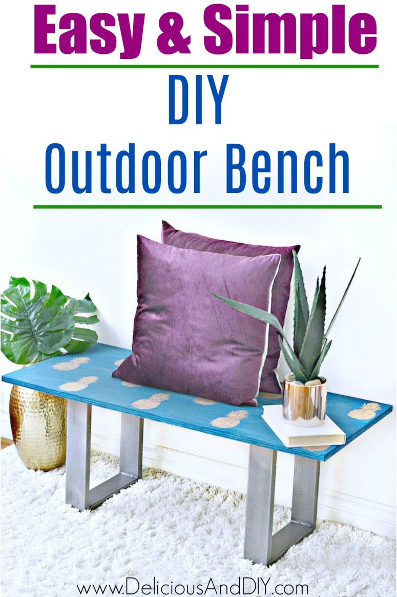 Make an Outdoor Bench in Under 30 Minutes