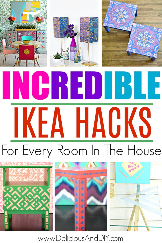 a list of ikea furniture hacks