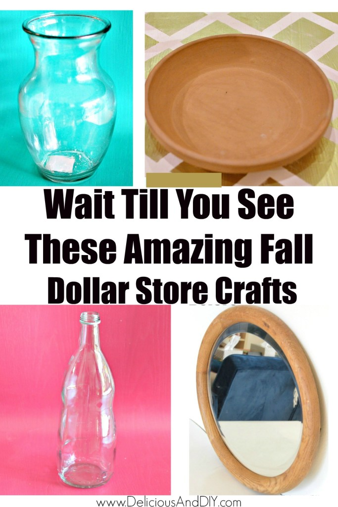 dollar store fall crafts