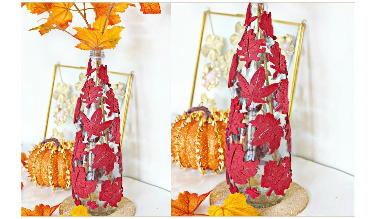 DIY Dollar Store Fall Decoration