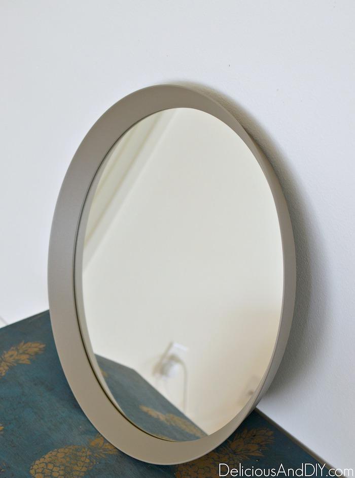 round ikea mirror