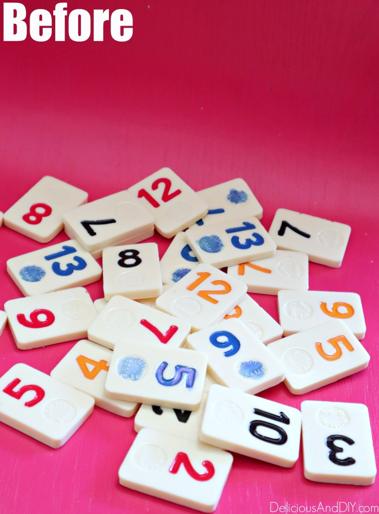 board game chips into diy crafts