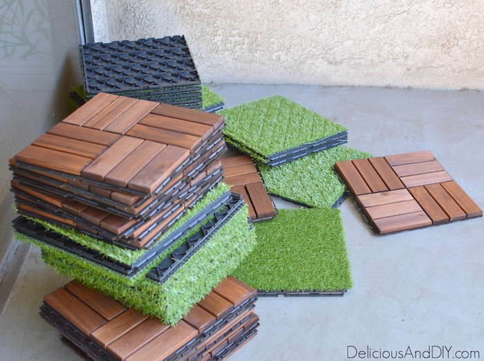 removable ikea flooring for outdoors