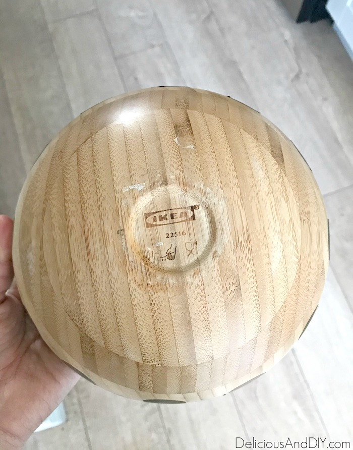 diy wooden bowl