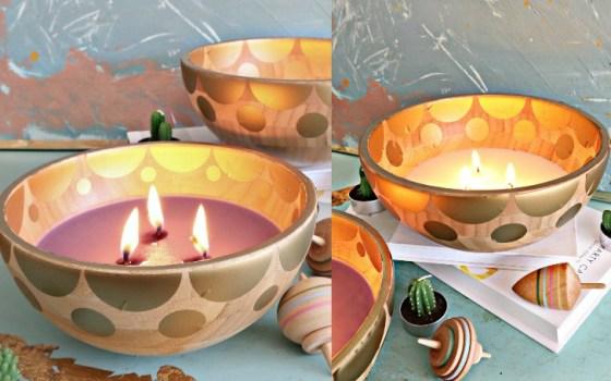 diy ikea bowl candle