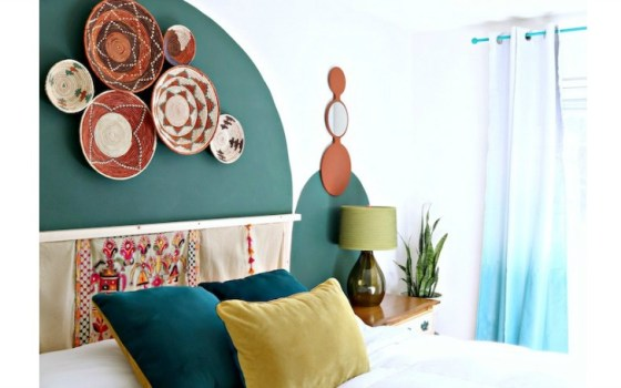 boho ikea ivar headboard quick and easy ikea hack