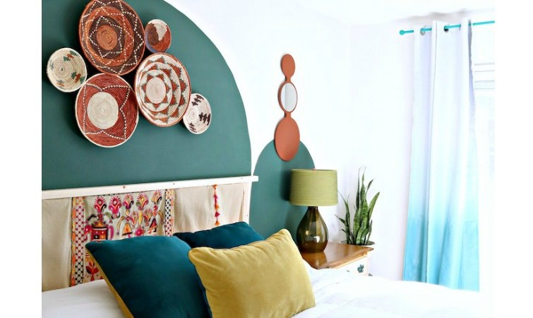 DIY Ikea Ivar Headboard Hack