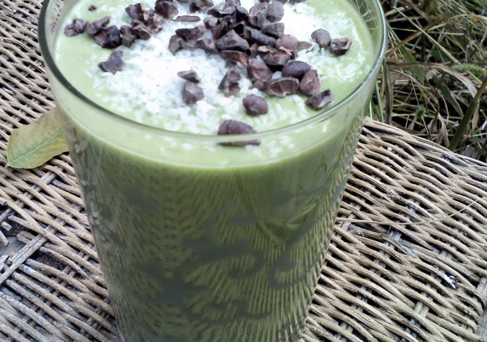 Ginger Coconut Green Smoothie