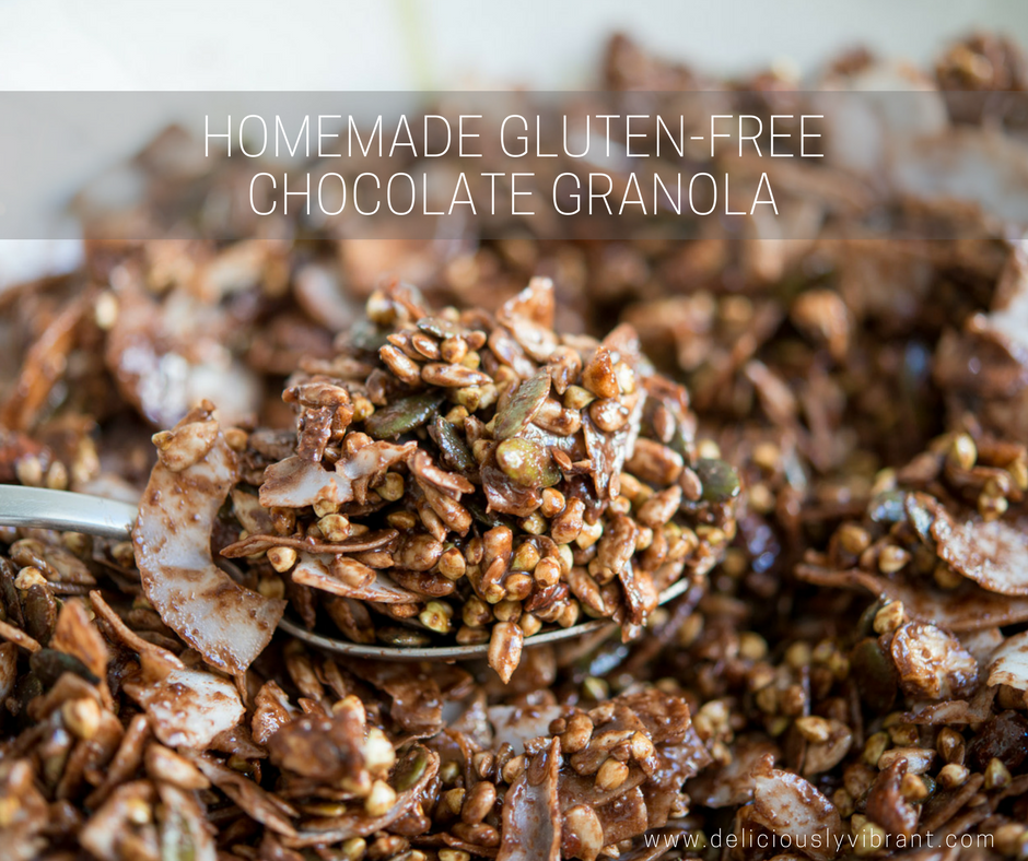 Easy Homemade Sugar-Free Chocolate Granola