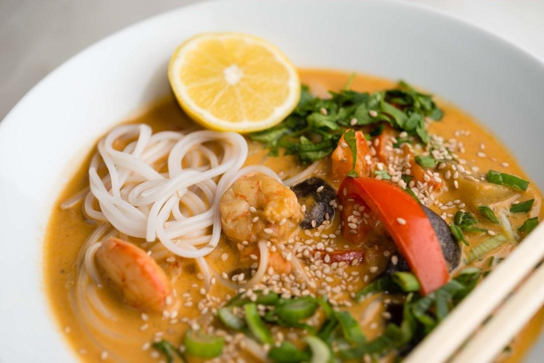 Warming Thai Coconut Soup