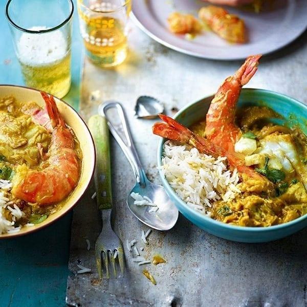 thai yellow fish curry