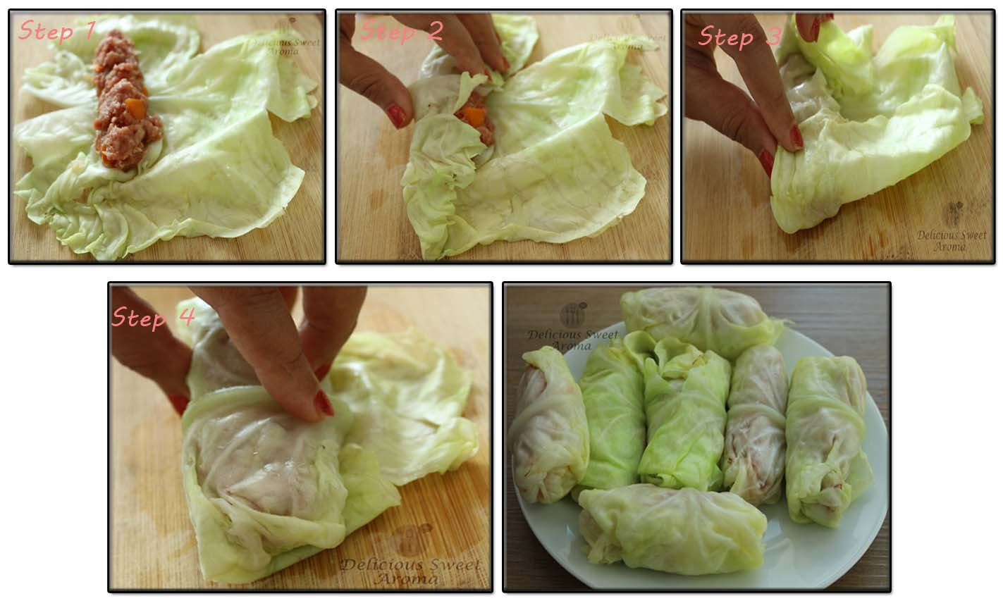 Beef Stuffed Cabbage rolls | Delicious Sweet Aroma
