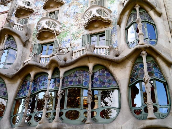 Gaudi ist allgegenwärtig in Barcelona