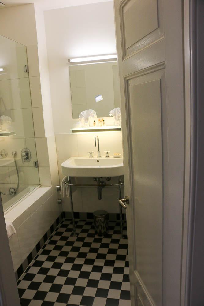 Badezimmer in der Villa Silvana
