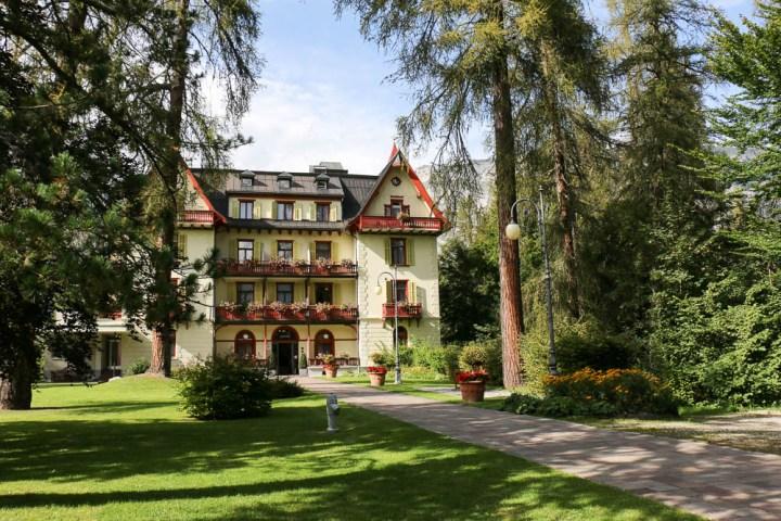 Villa Silvana, Waldhaus Flims