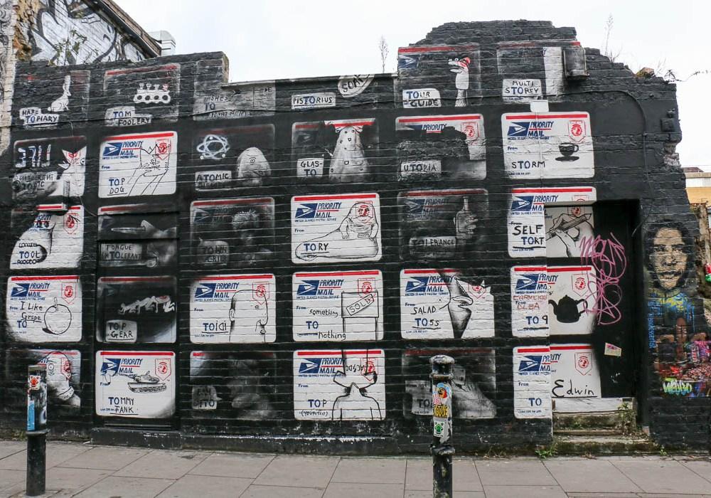 Brick Lane – Street Art in London