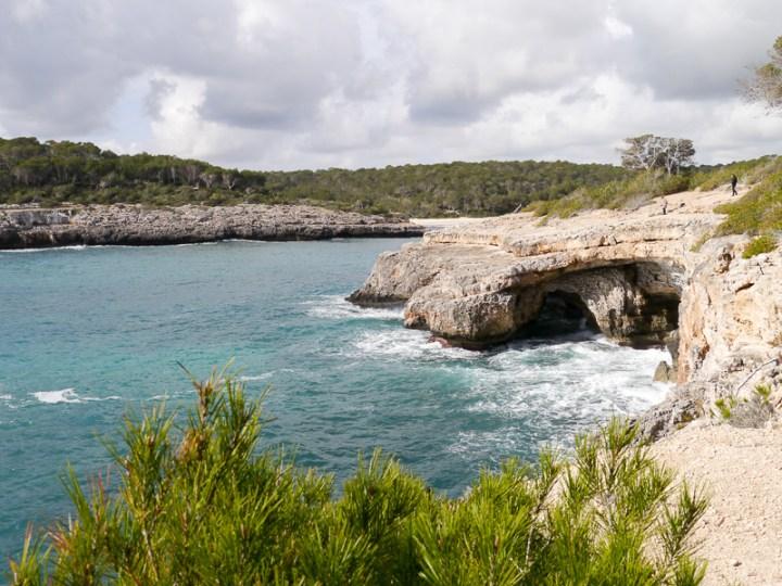 Eine Bucht, drei Strände: Cala Mondrago
