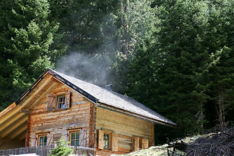 Hütte im Köflerbachtal