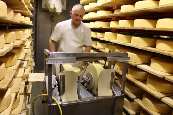 Käse abschmieren