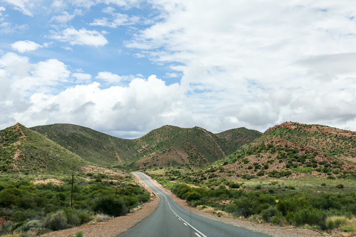 Auf der Route 62 durch Südafrika