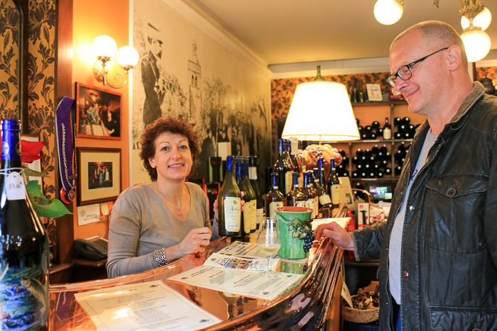 Weinprobe mit Nathalie Tissot