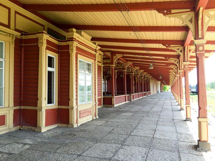 Alter Bahnhof in Haapsalu