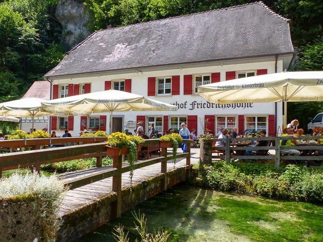 Gasthof an der Wimsener Höhle