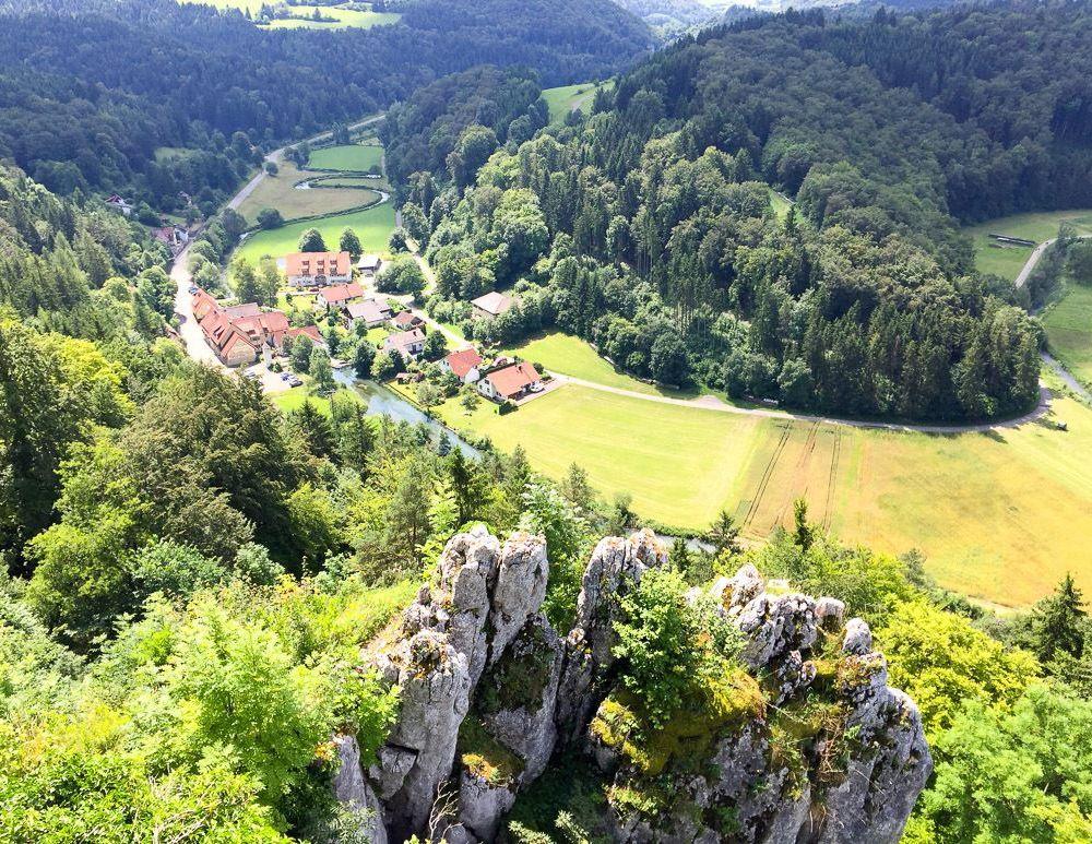Großes Lautertal: Radtour auf der Schwäbischen Alb