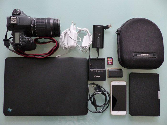 Technik im Reisegepäck
