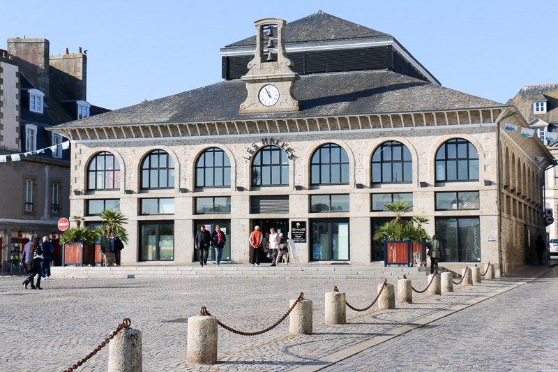 Markthalle von Concarneau