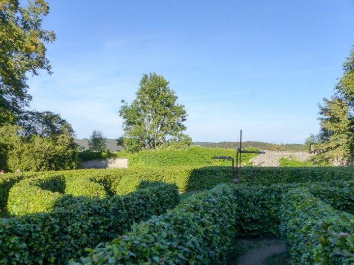 Labyrinth Kloster Steinfeld