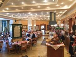 Frühstücksbuffet im Wintergarten