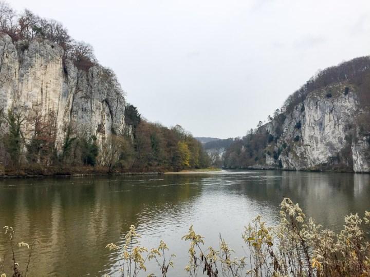 Donauenge am Kloster Weltenburg